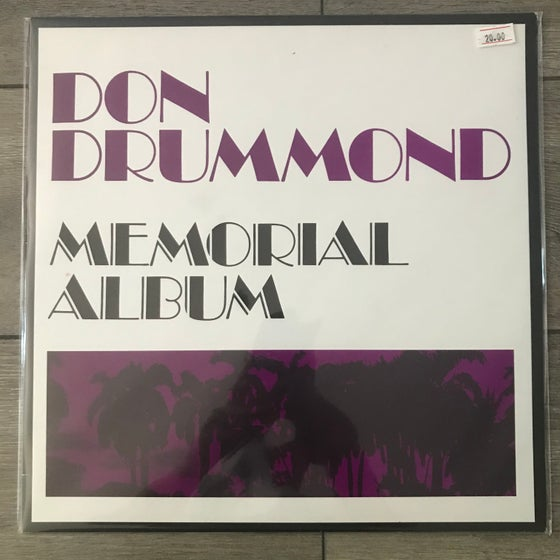 Image of Don Drummond - Memorial Album Vinyl LP