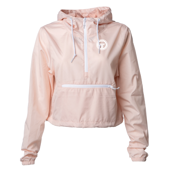 Image of CROPPED PULLOVER ANORAK WINDBREAKER