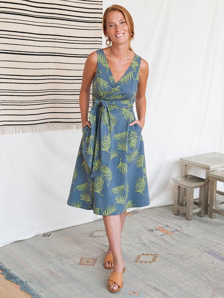 Image of Ana Wrap Dress