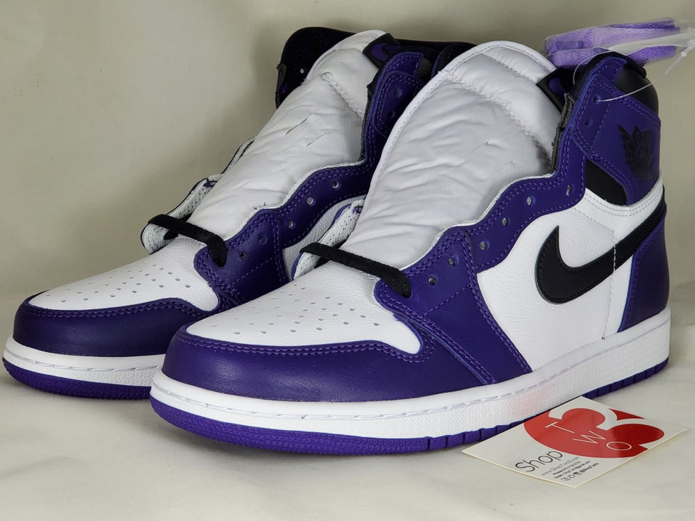 Image of Air Jordan 1 Retro Court Purple 2.0
