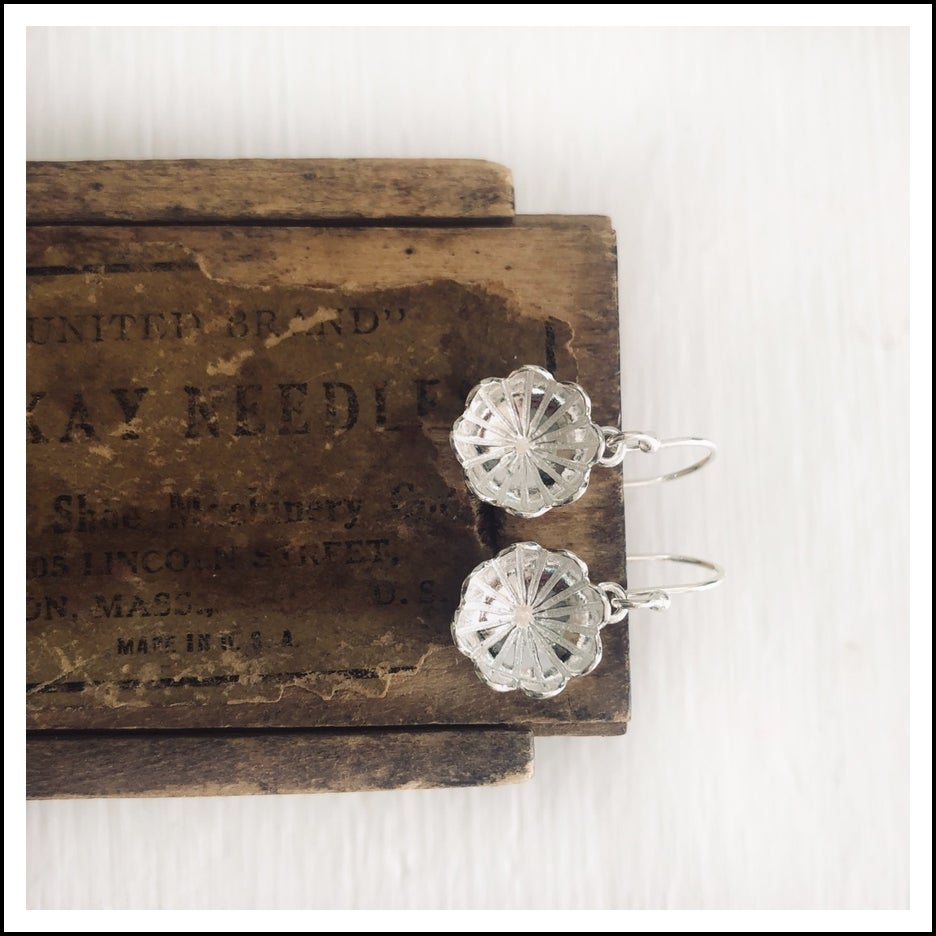 Image of Tibetan Lotus Earrings