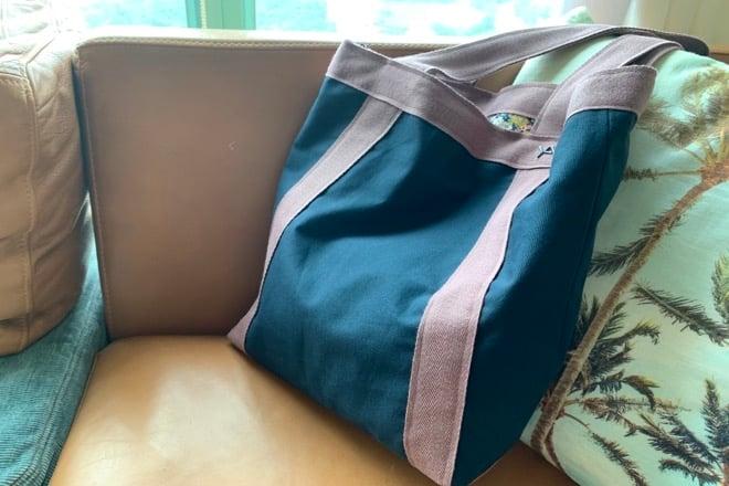 Image of Annette bag reversible Mille fleurs