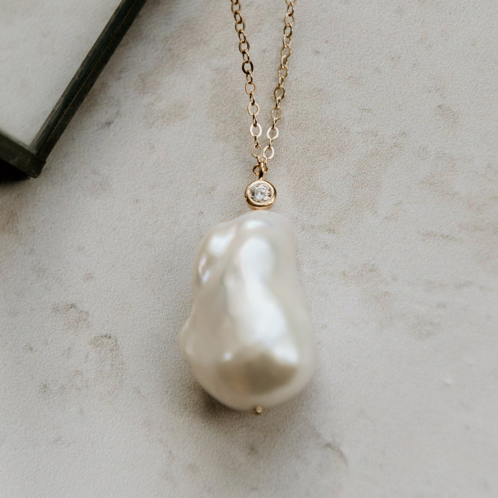 Image of Ivy Baroque Pearl Necklace