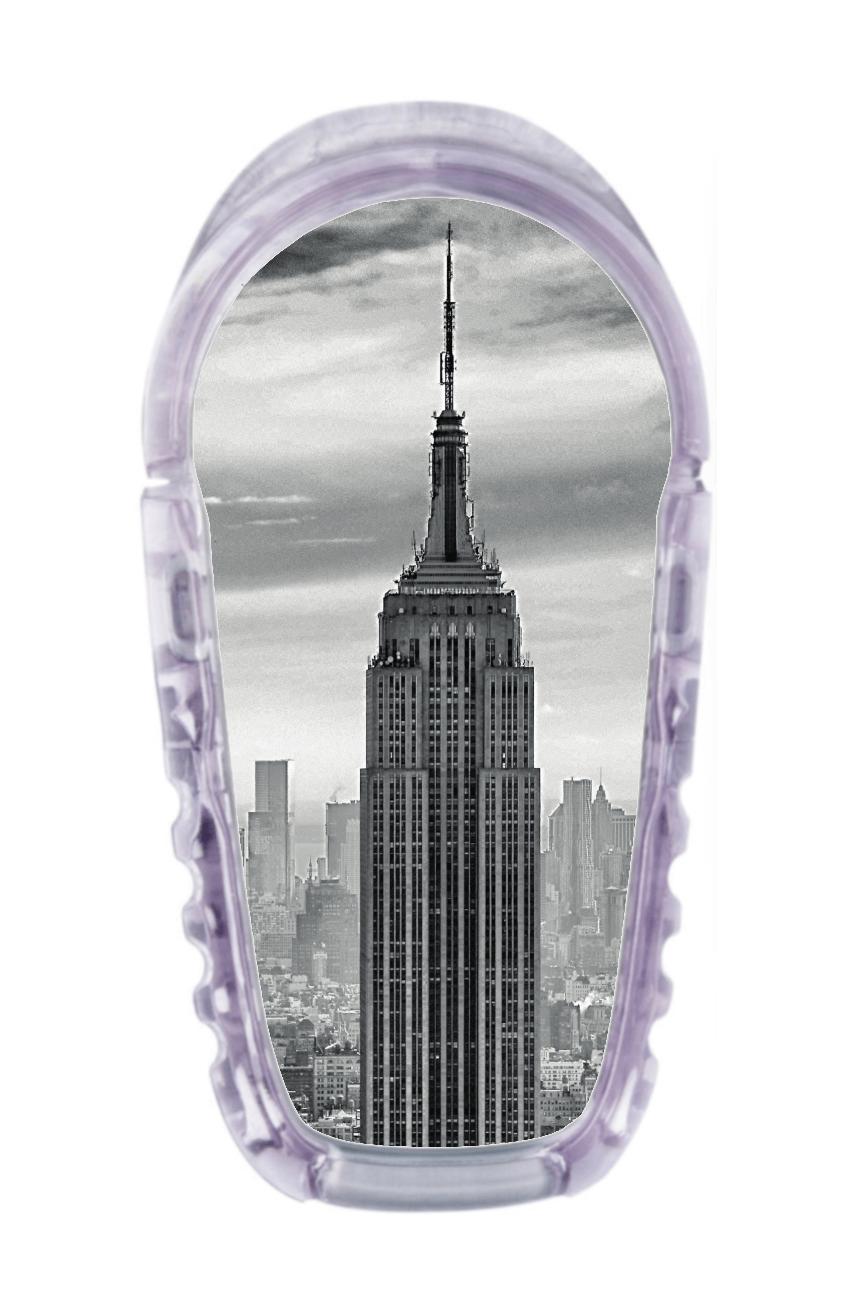 Image of Empire State Dexcom G6 Transmitter Sticker