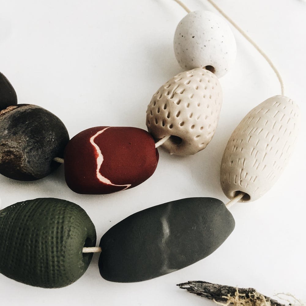 Image of Pebble necklaces