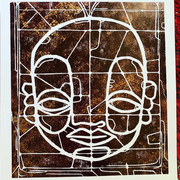 """Image of """"CyFace Stainglass""""#3"""