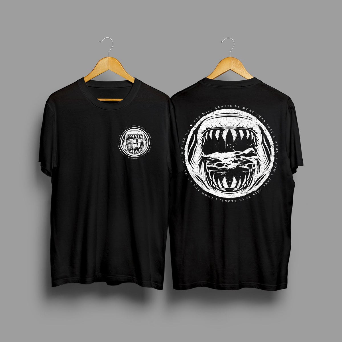 Image of LONESHARK Black Lyric Tee