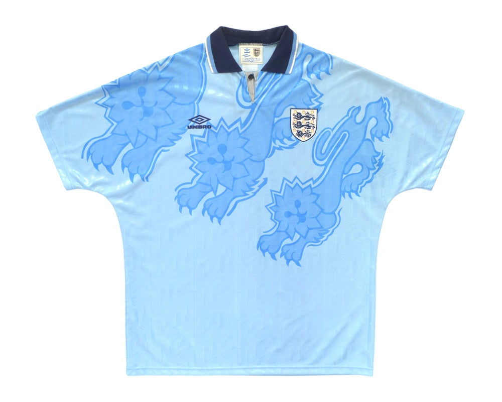Image of 1992-93 Umbro England Third Shirt XL