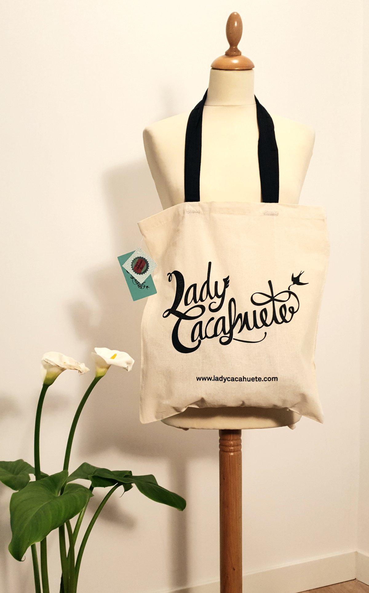 Image of Bolsa de tela Lady Cacahuete