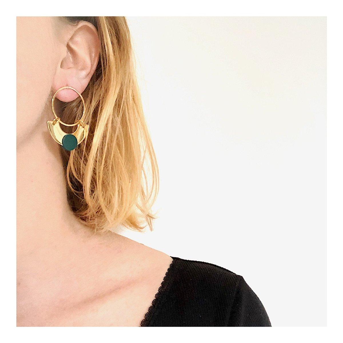 Boucles d'oreilles YOKO #1