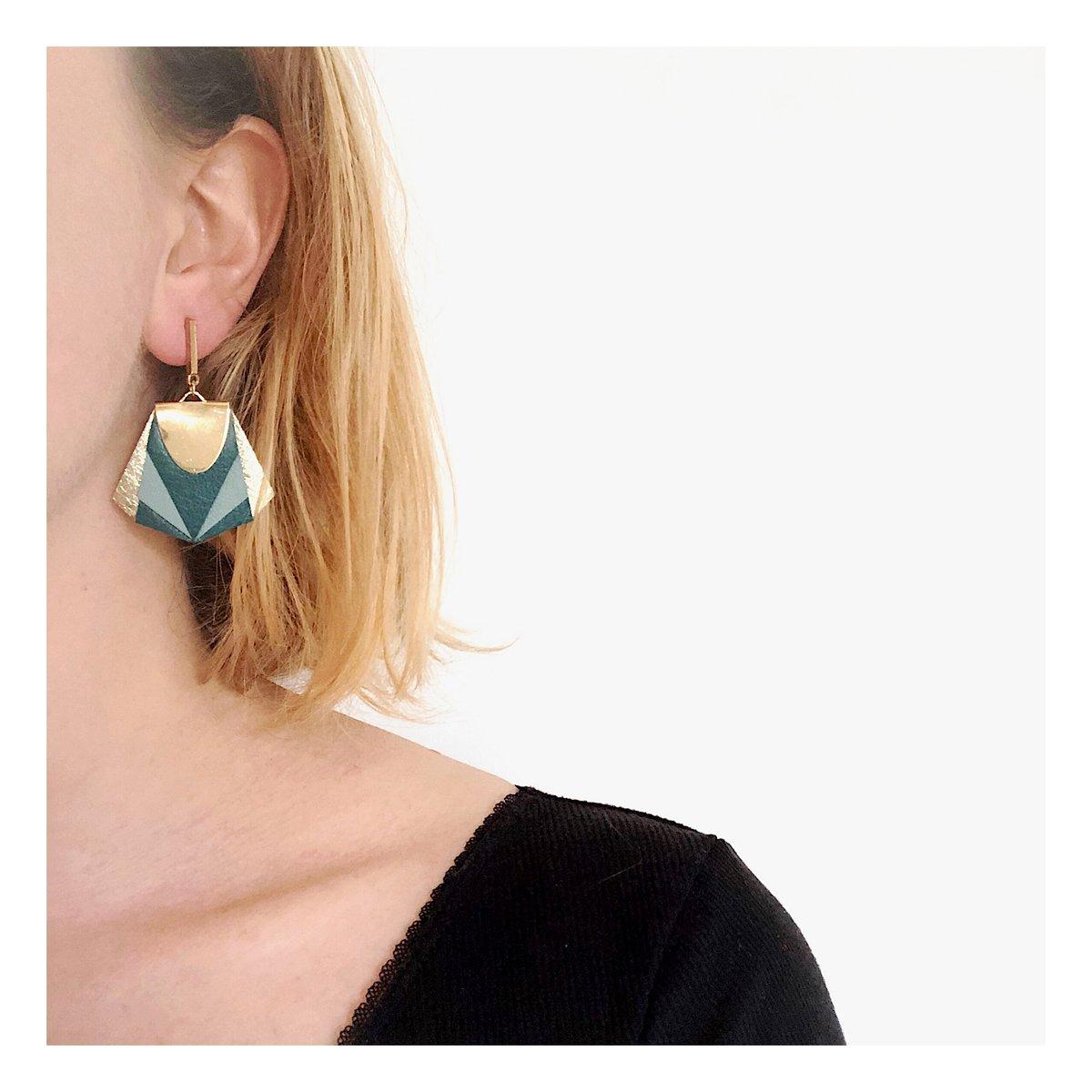 Boucles d'oreilles NOA #3
