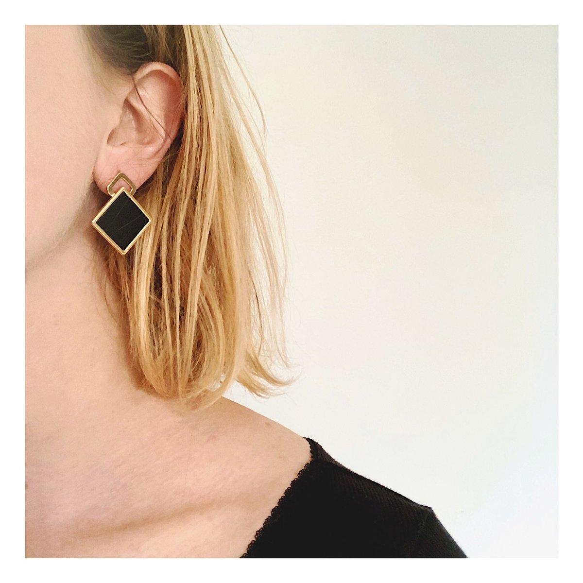 Boucles d'oreilles NOUR #1