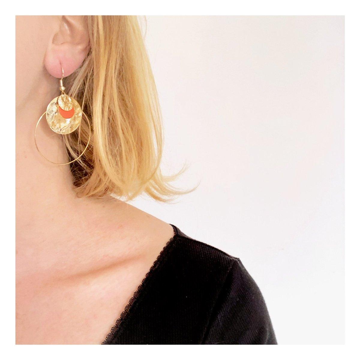 Boucles d'oreilles Inès #1