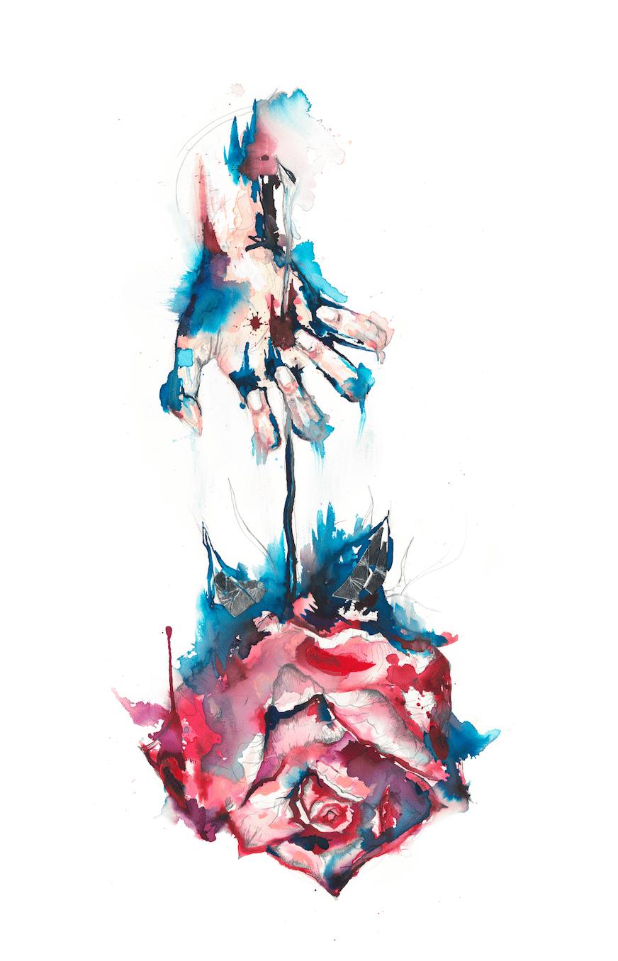 Image of Rose Print