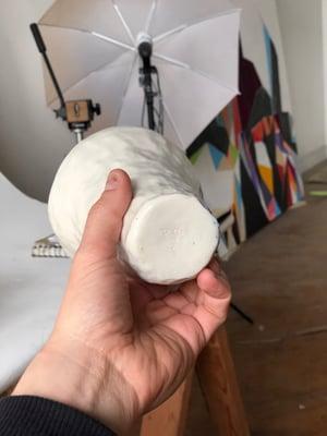 Image of Porcelain Vase - Andrew in Blue