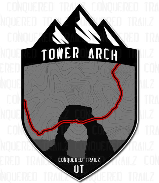 "Image of ""Tower Arch"" Trail Badge"