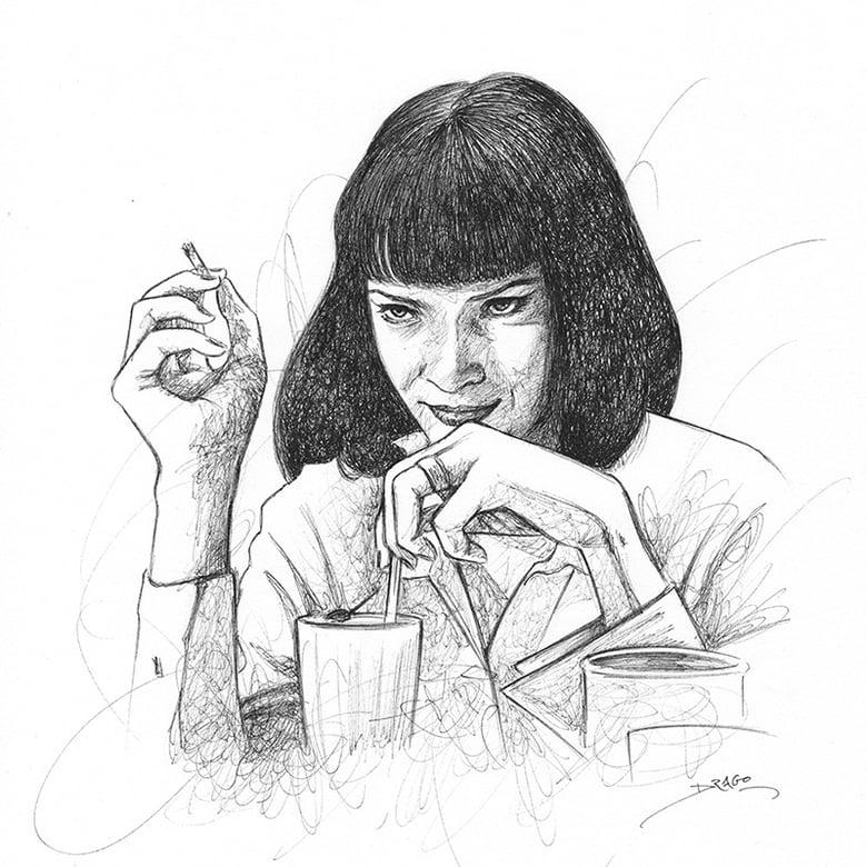 Image of Uma Thurman Doodle