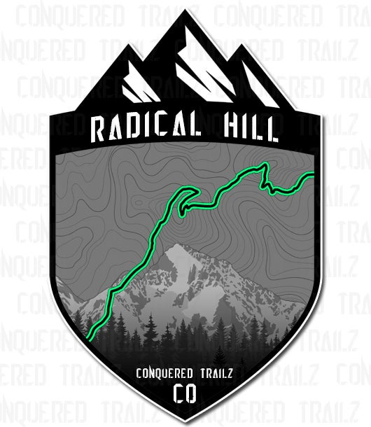 "Image of ""Radical Hill"" Trail Badge"