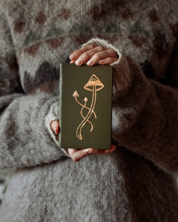 Image of Gold Embellished Hardcover Notebook