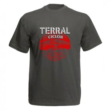 Camiseta Ciclón Gris