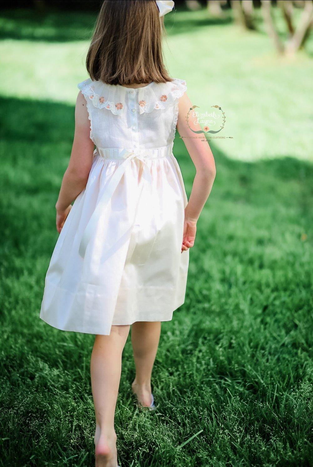 Image of Lara Vintage Netting Primrose Dress