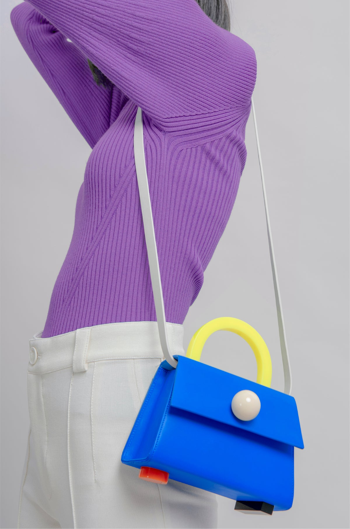 Image of Diva satchel bag • Ultramarine with strap - Limited quantities