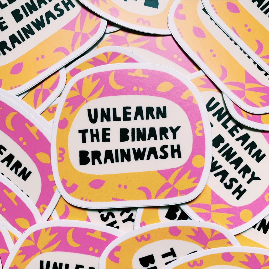 Image of BINARY BRAINWASH