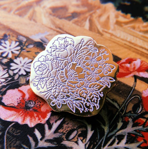 Image of Full Bloom Enamel Pin