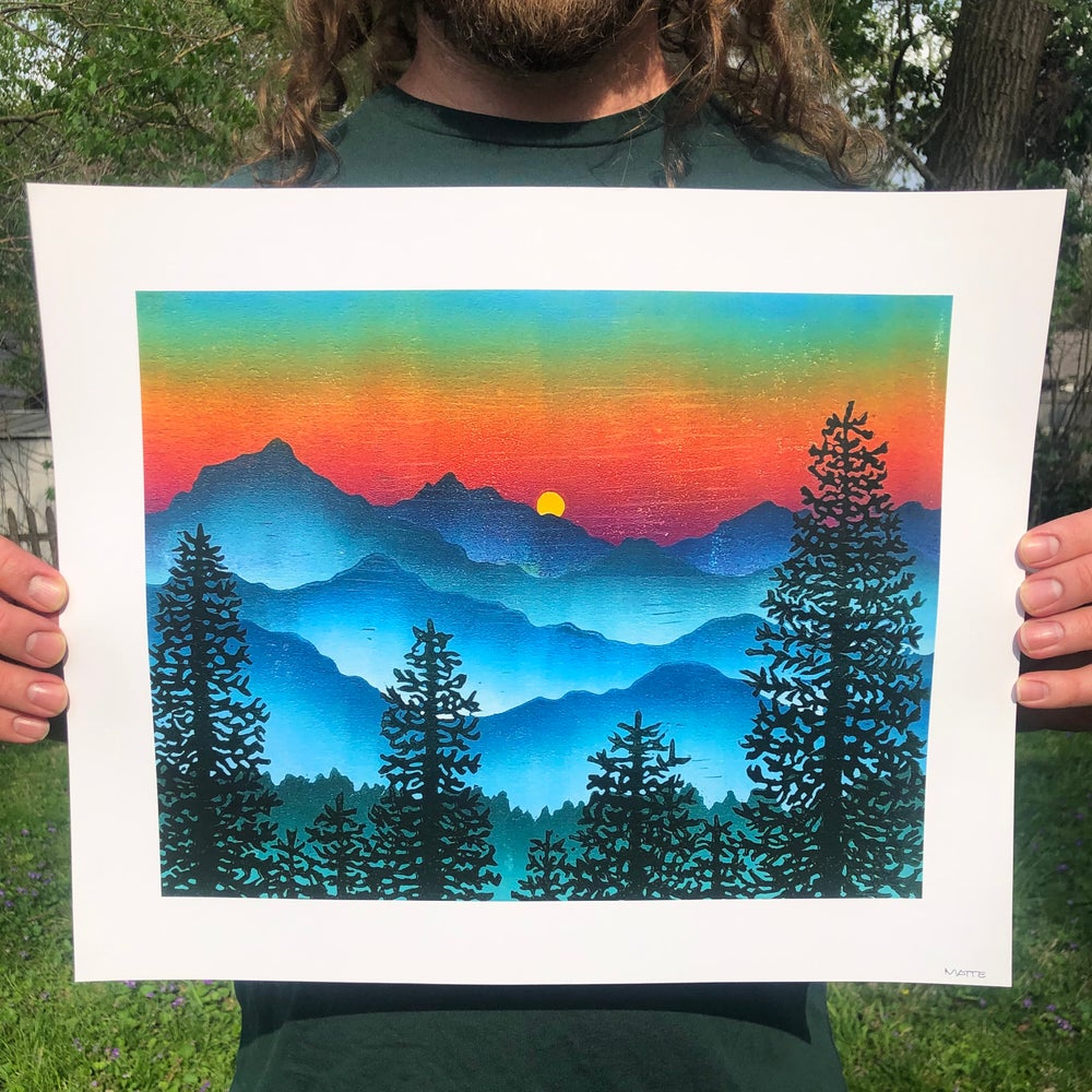 Image of Smoky Mountain Smoke archival print