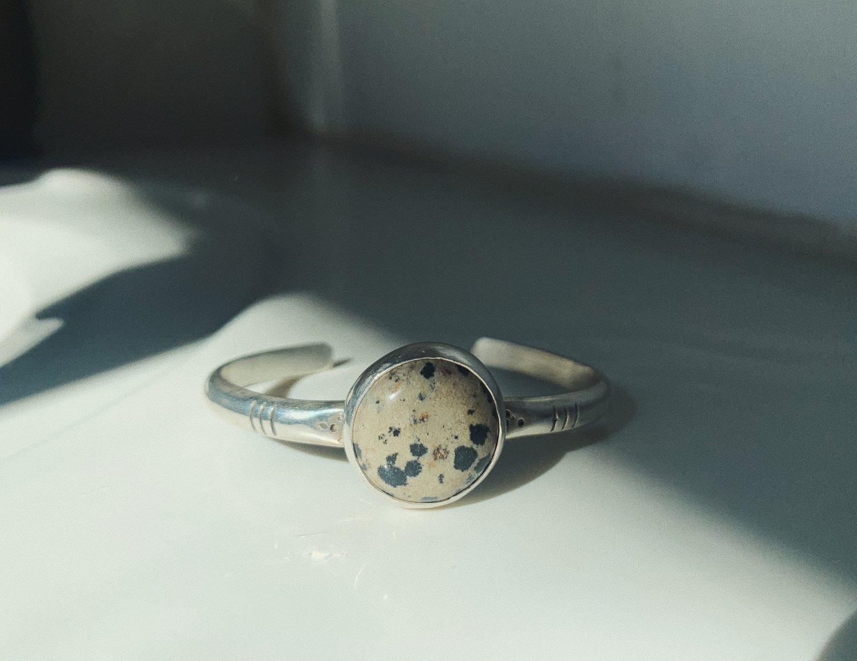 Image of Dalmatian Cuff