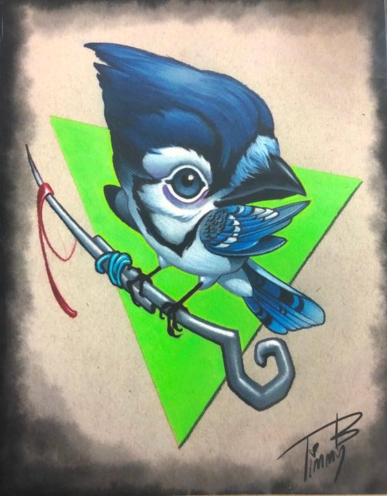 Image of Blue Jay Needly Guy