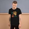 Toby Colour Short-Sleeve Unisex Black T-Shirt