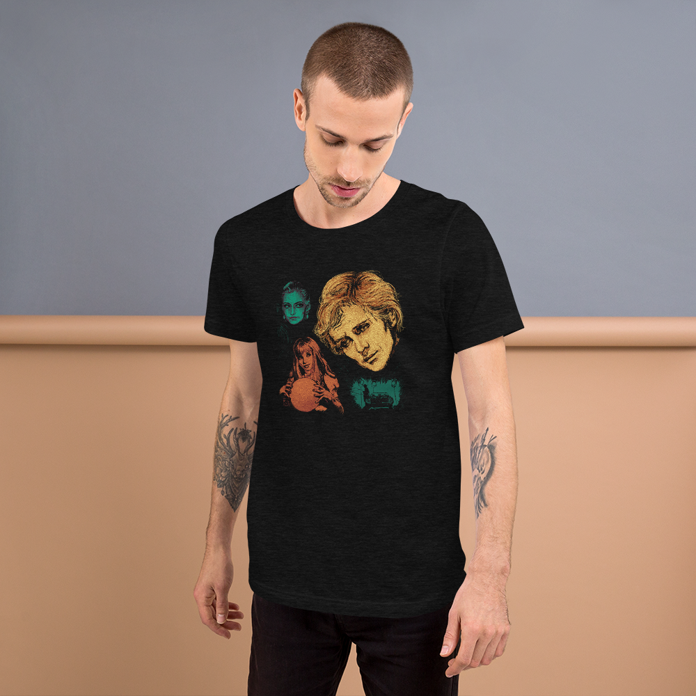 Toby Short-Sleeve Unisex Black T-Shirt