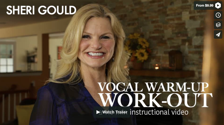Image of Vocal Warm-up/Work-out!  Now 20% off-only $20 (limited time)