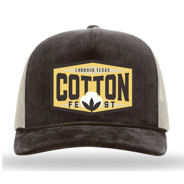 Image of Cotton Fest Cap - Corduroy