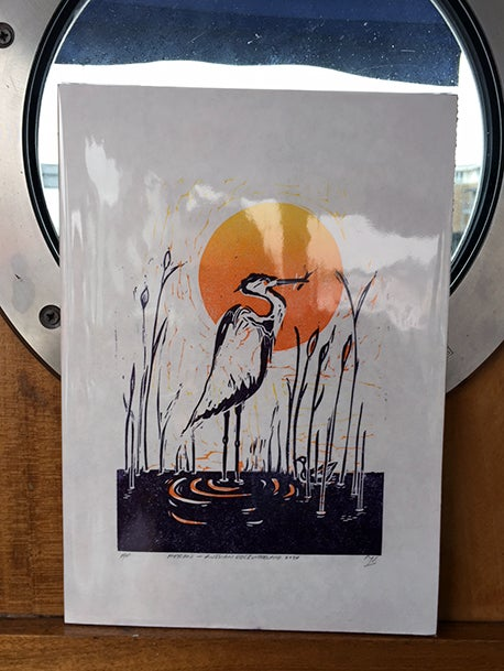 Image of Heron—Russian Dock Woodland
