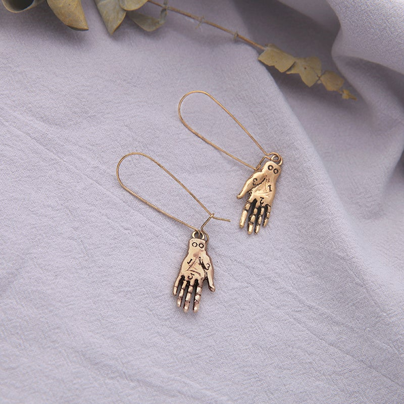 Image of THE ART OF PALMISTRY EARRINGS