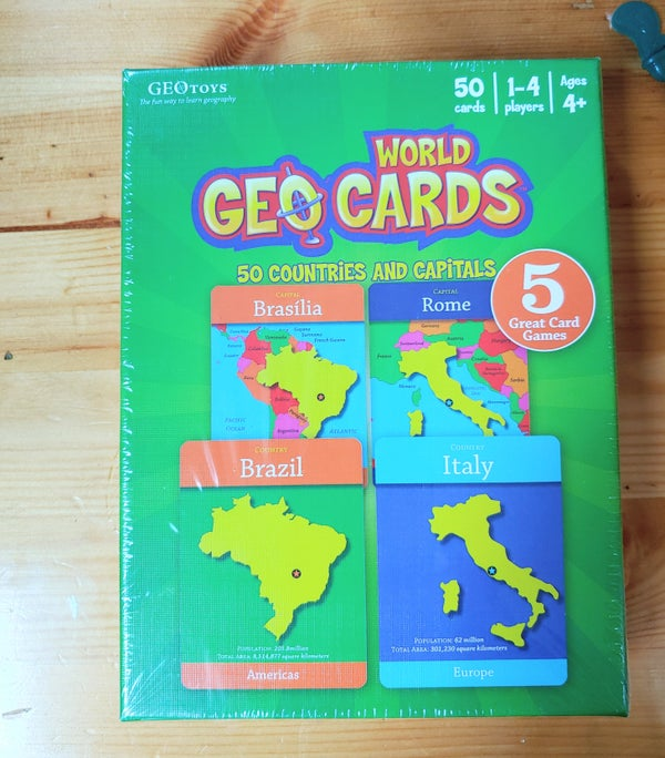 Image of World Geo Cards