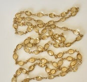 "Image of 34"" citrine chain"