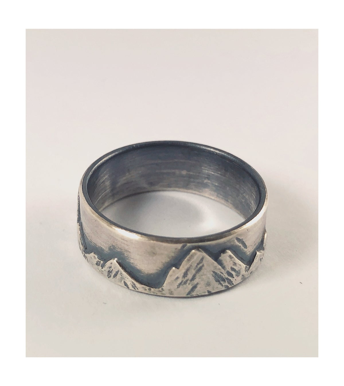 Image of Sterling Range Ring Size 7.75