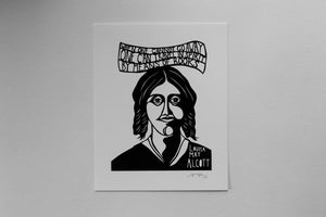 Image of Benefit Women's Wisdom Project Print: Louisa May Alcott
