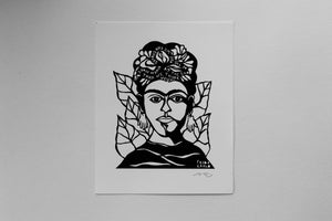 Image of Benefit Women's Wisdom Project Print: Frida Kahlo