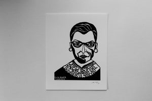 Image of Benefit Women's Wisdom Project Print: Ruth Bader Ginsburg