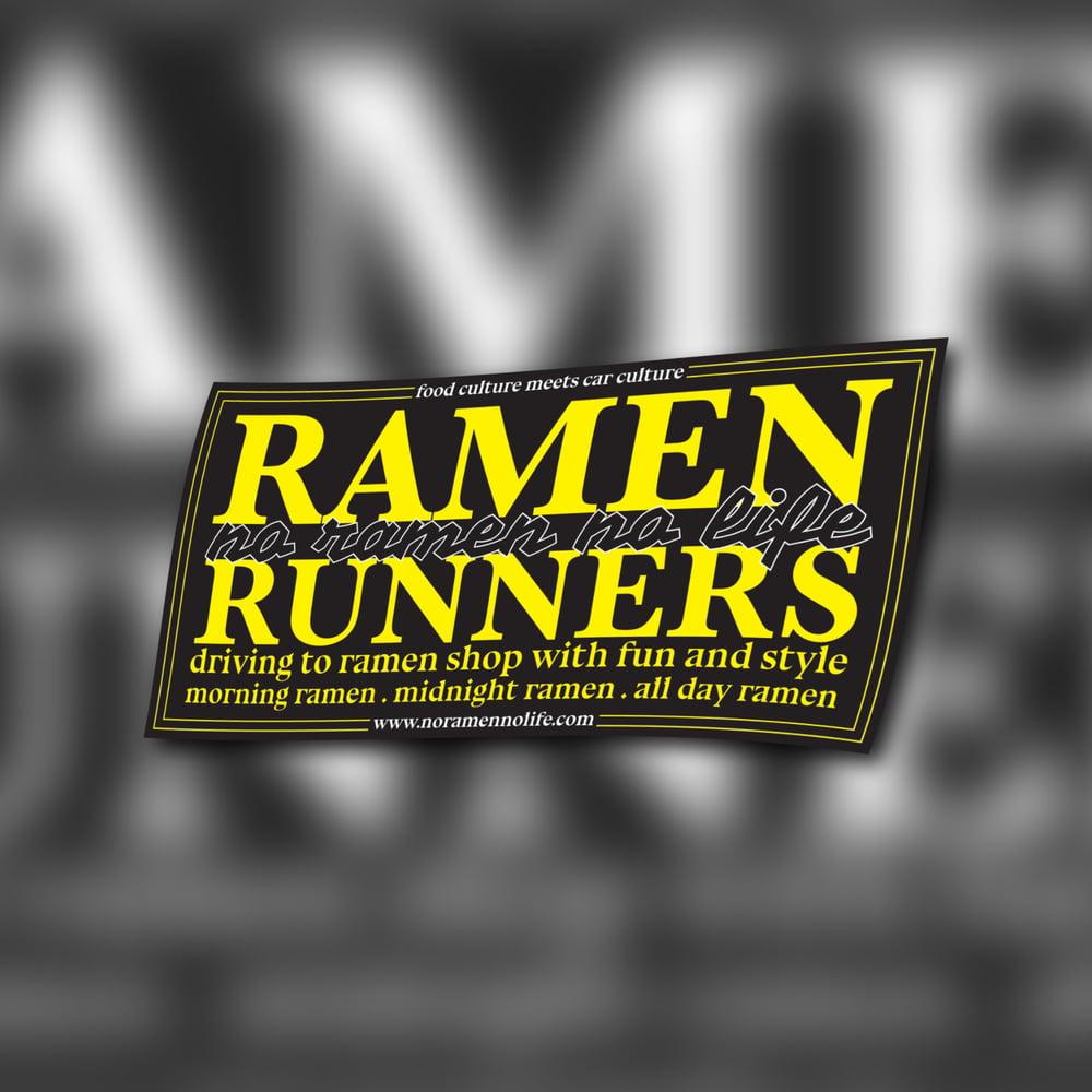 Image of RAMENrunners - Club Sticker