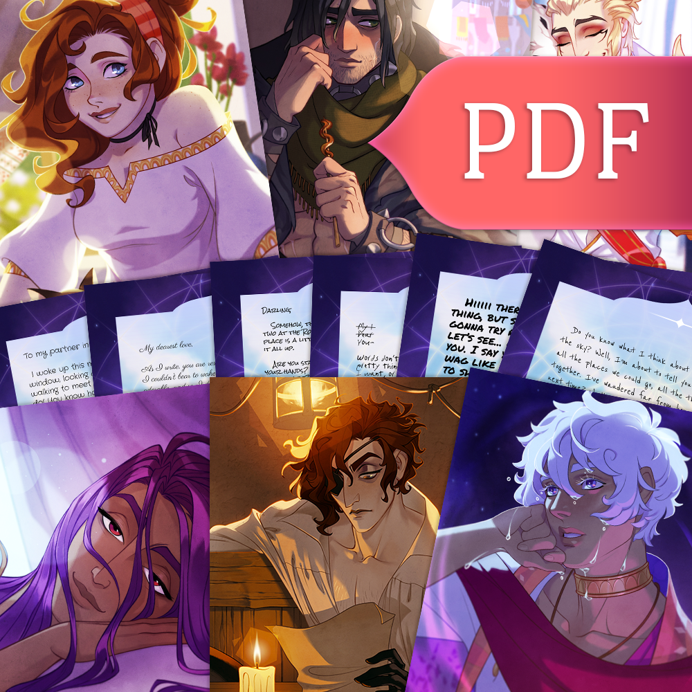 Image of The Arcana - Love Letters (PDF)
