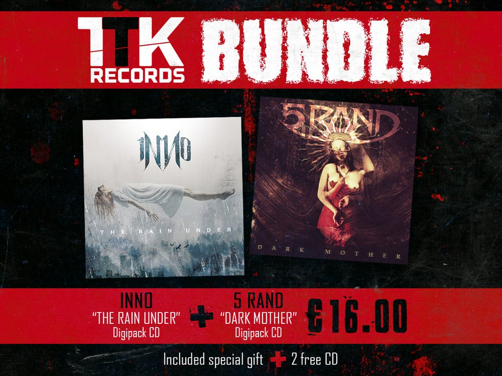 "Image of BUNDLE: INNO ""The Rain Under"" (CD) + 5RAND ""Dark Mother"" (CD)"