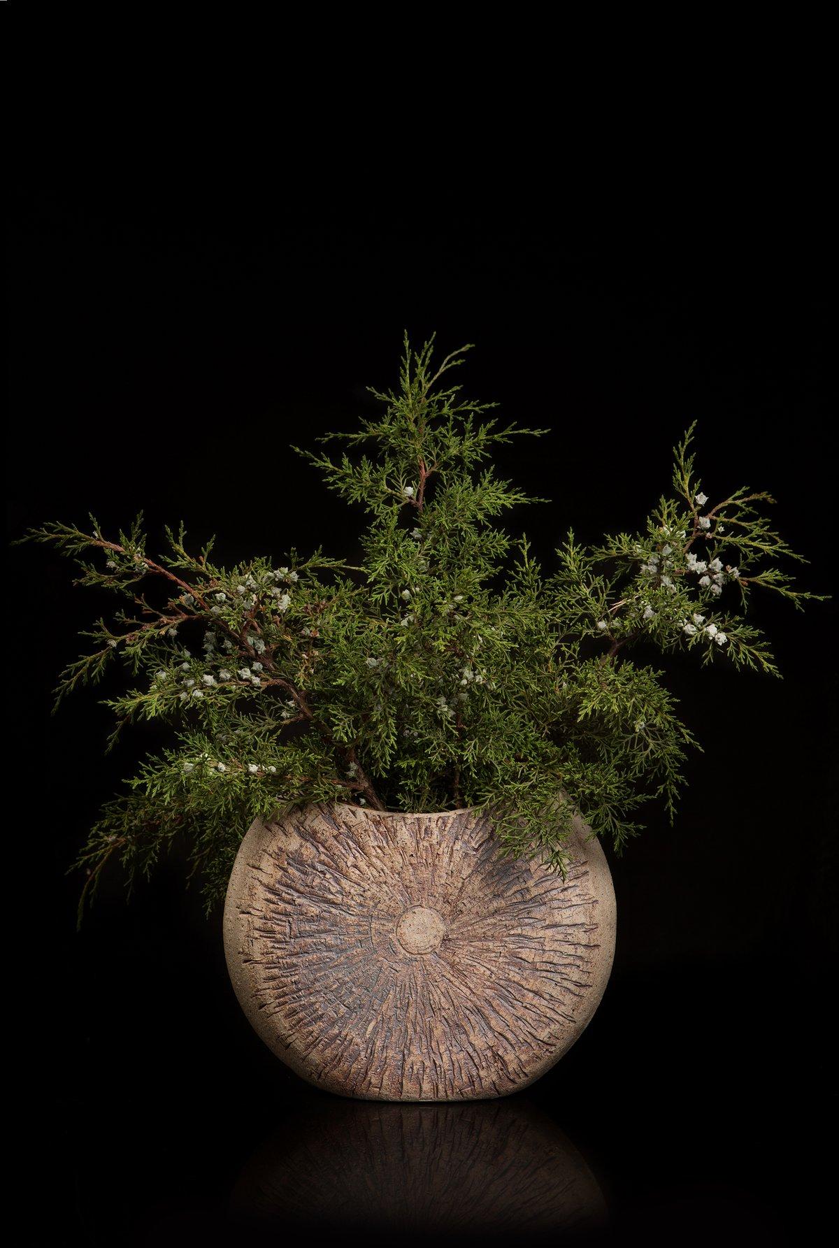 Woodland sill vase