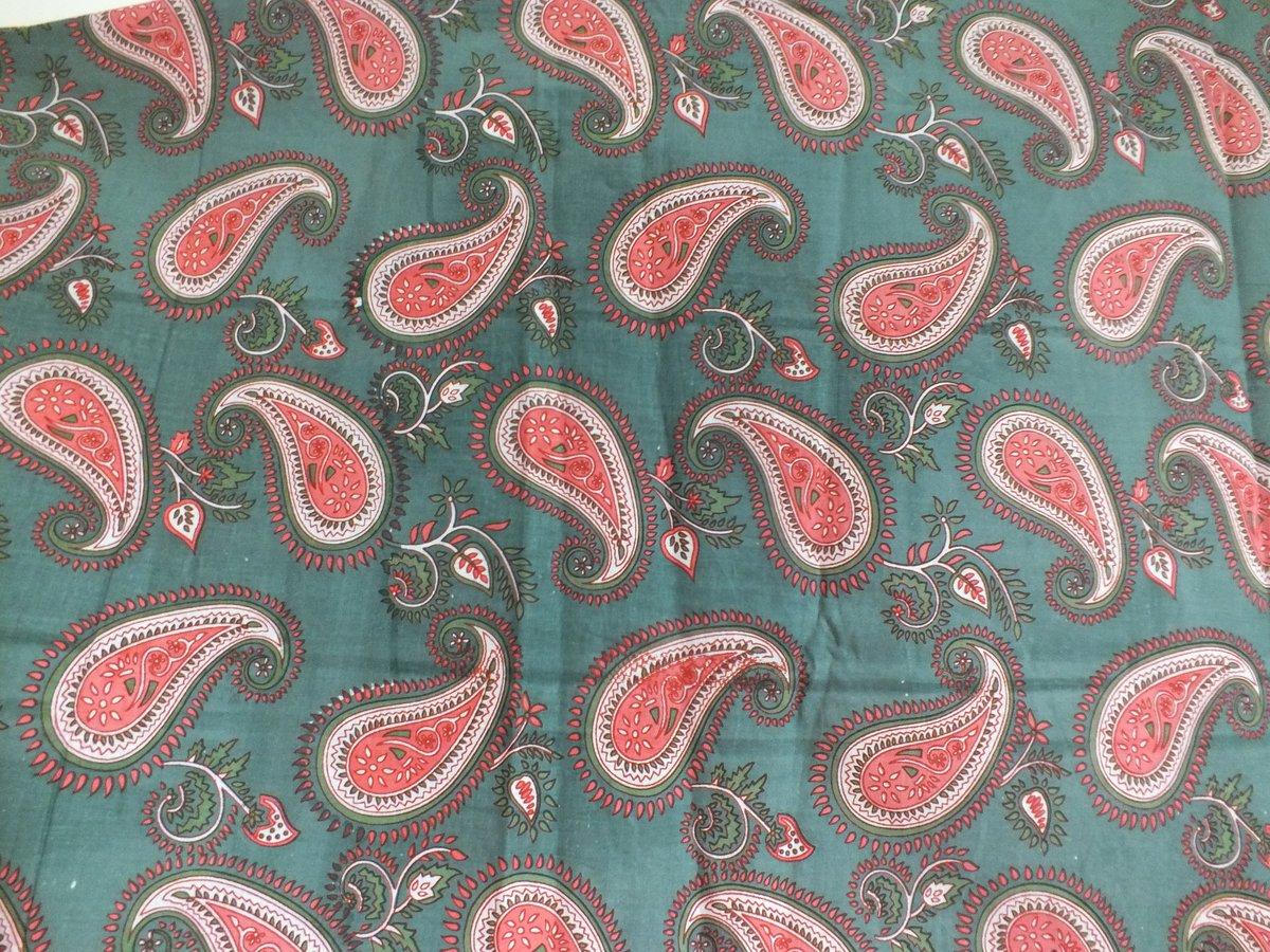 Image of Namasté fabric motif paisley