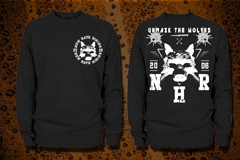 Image of Unmask The Wolves Crewneck