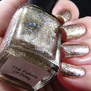 Image of MCKFRESH - The Future of Drag –  Platinum silver flakies and glitter